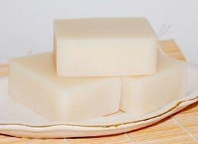 Resultado de cómo hacer jabón casero sin aceite