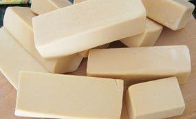 Ejemplo de cómo se puede hacer jabón casero sin sosa cáustica