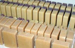 Imagen de un jabón casero sin sosa cáustica