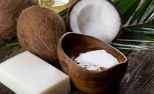 Imagen de cómo hacer jabón de coco